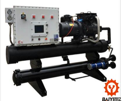 80HP水冷螺杆式防爆冷水机